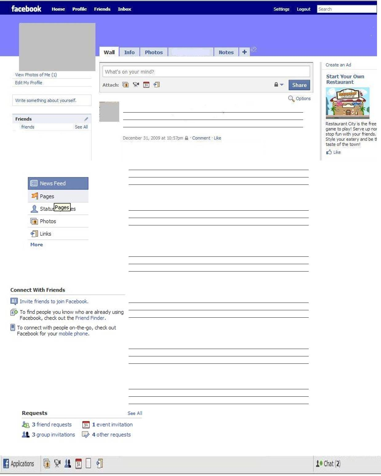 Wamogojuniors11 facebook template english iii for Historical facebook page template