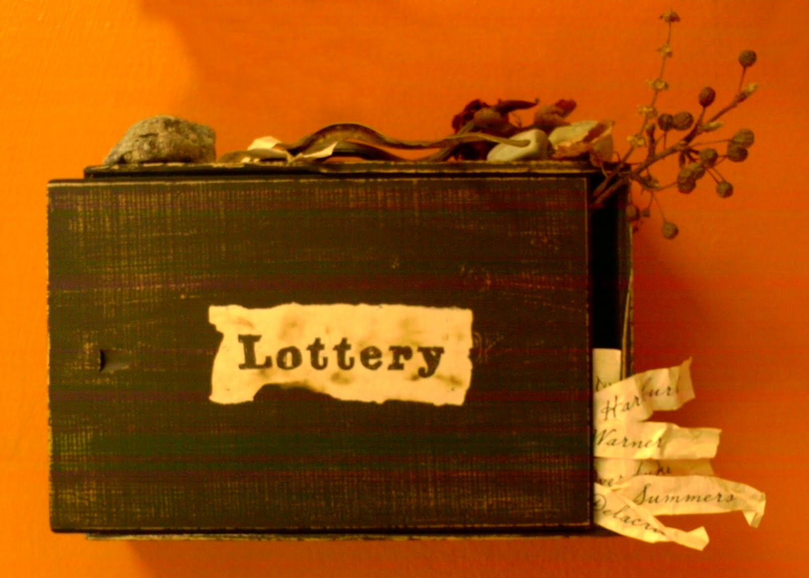 the settings used in shirley jacksons story the lottery In 1948 she published her iconic short story 'the lottery  during shirley jacksons lifetime her story the lottery  story from shirley jackson,.